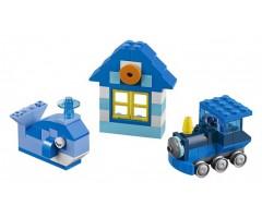 10706 Набор кубиков синего цвета