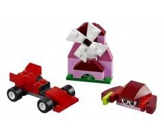 10707 Набор кубиков красного цвета