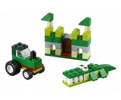 10708 Набор кубиков зеленого цвета