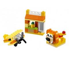 10709 Набор кубиков оранжевого цвета