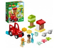 10950 Фермерский трактор и животные