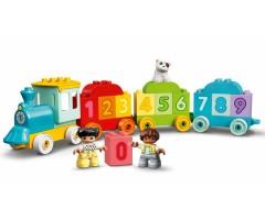 10954 Поезд с цифрами — учимся считать