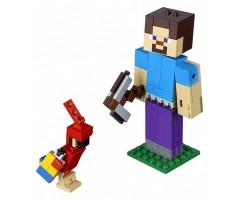 21148 Стив с попугаем