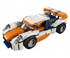 31089 Оранжевый гоночный автомобиль