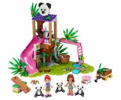 Джунгли. Домик для панд на дереве