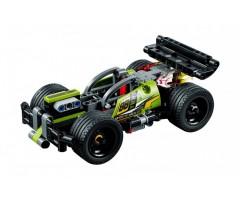42072 Зеленый гоночный автомобиль