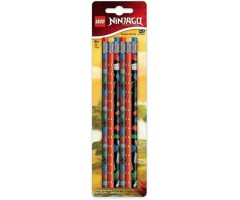 51618 Набор карандашей 6 шт LEGO Ninjago