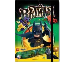 51732 Книга для записей  с резинкой LEGO Batman Movie