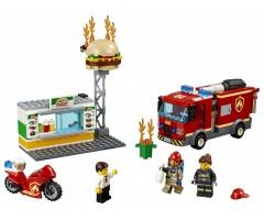 Пожар в бургер кафе
