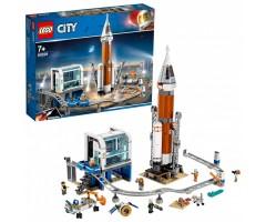 60228 Ракета для запуска в далекий космос и пульт управл