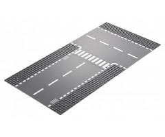 60236 Прямой и Т-образный перекрёсток