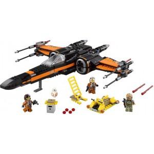 «Звёздный истребитель X-Wing По Дамерона» 75102