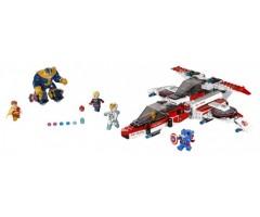76049 Реактивный самолёт Мстителей: космическая миссия