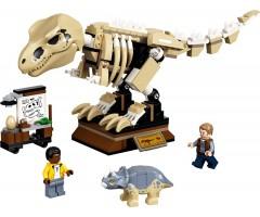 76940 Скелет тираннозавра на выставке
