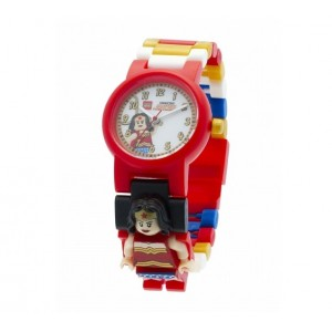 «Часы LEGO Super Heroes с минифигурой Wonder Woman» 8020271