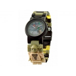 «Часы LEGO с минифигурой Yoda» 8021032
