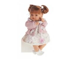 AJ1668P Кукла Каталина в розовом, 42см