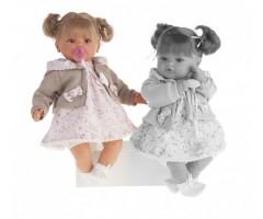 AJ1668W Кукла Каталина в бежевом, 42см