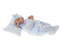 AJ1670B Кукла Марита в голубом,