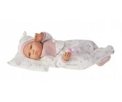 AJ1951P Кукла Бертина в розовом, 52см