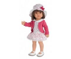 AJ2803P Белла в шляпке, 45 см