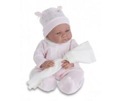 AJ3359P Кукла Ника в розовом, 40 см