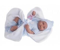 AJ3362B Кукла Фернан в голубом, 40см
