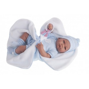 «Кукла Фернан в голубом, 40см» AJ3362B