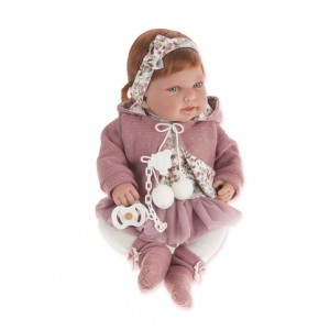 «Саманта в розовом, 40 см» AJ3370P
