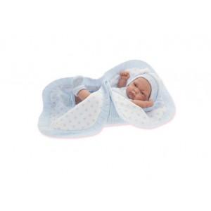 «Кукла-младенец Карл в голубом, 26 см» AJ4069B