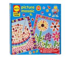 AL1406 Мозаика Из фотографий 5 картинок