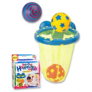 «Игра для ванной  Мячики в сетке» AL694