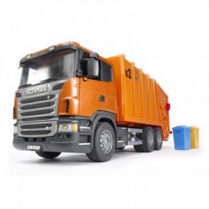 «Мусоровоз Scania оранжевый» BR3560