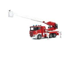 BR3590 Пожарная машина Scania с выдвижной лестницей и пом