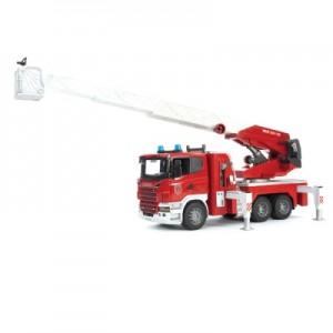 «Пожарная машина Scania с выдвижной лестницей и помпой» BR3590