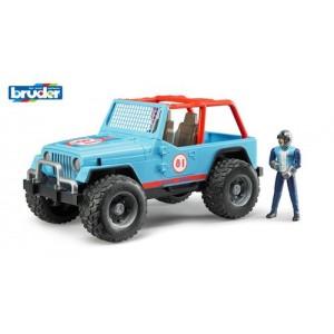 «Внедорожник  синий с гонщиком» BR541