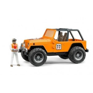 «Внедорожник  оранжевый с гонщиком» BR542