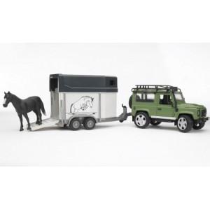«Land Rover Defender прицеп и лошадь» BR592