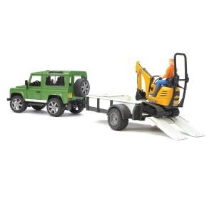 «Land Rover с прицепом и экскаватором» BR593