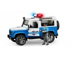 BR595 Внедорожник Land Rover  Полиция с фигуркой