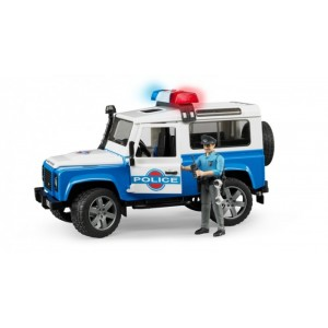 «Внедорожник Land Rover  Полиция с фигуркой» BR595