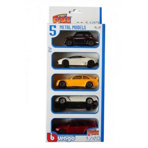 «Набор из  пяти машин  1:43» BU30005