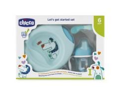CI16200200000 Набор детской посуды голубой