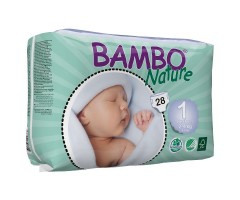 CI310131 Подгузник BAMBO Nature New  born - 1 № 28