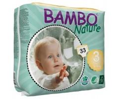Подгузник дет. BAMBO Nature Midi - 3 № 33