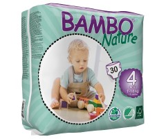 CI310134 Подгузник дет.BAMBO Nature Max ( 7-18кг) № 30