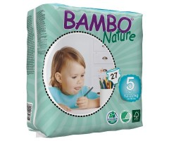 CI310135 Подгузник BAMBO Nature Junior - 5 (12-22 кг) № 27