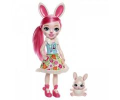 EFRH51 Большая кукла с любимой зверюшкой