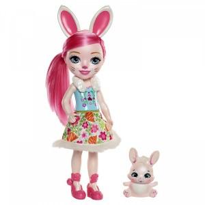 «Большая кукла с любимой зверюшкой» EFRH51