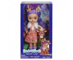 EFRH54 Большая кукла со зверюшкой Данесса